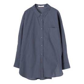 レギュラー前あきシャツ (Stripe)