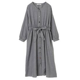 ELENCARE DUE イロイロボタンワンピース (Charcoal Gray)