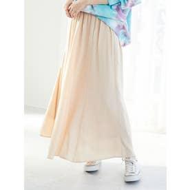マーメイドサテンスカート (Cream)