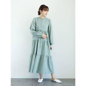 ELENCARE DUE ティアードワンピース (Mint Green)