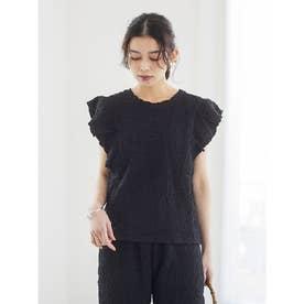 SUGAR SPOON ランダムシャーリングTシャツ (Black)