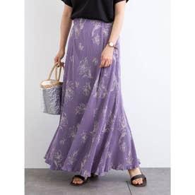 ELENCARE DUE フラワーptヨウリュウスカート (Purple)