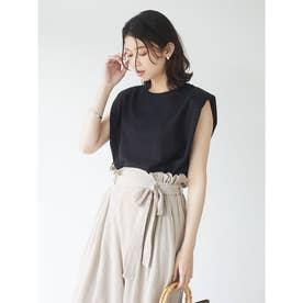 SUGAR SPOON カタパットフレンチTシャツ (Black)