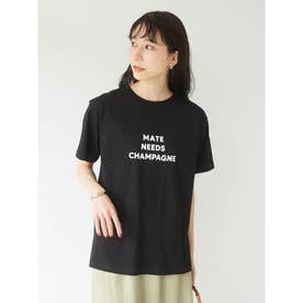 ブロックロゴTシャツ (Black)