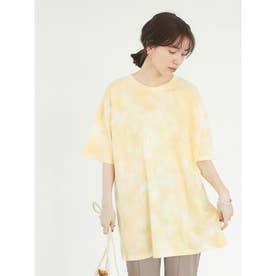 SUGAR SPOON タイダイTシャツチュニック (Yellow)