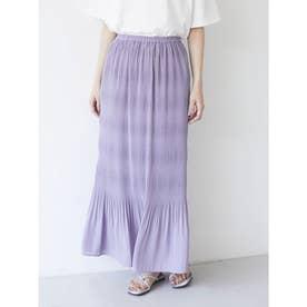 マジョリカIラインスカート (Purple)