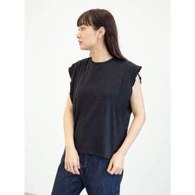 SUGAR SPOON フリルノースリTシャツ (Black)