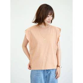 SUGAR SPOON フリルノースリTシャツ (Orange)