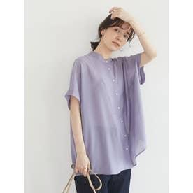 シアーブラウス (Purple)