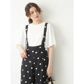 ・SUGAR SPOON フレアドルマンTシャツ (オフホワイト)