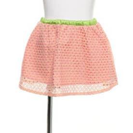 グリーンパークス レーススカート (ピンク)