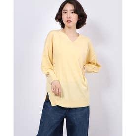 アンジェリーナニットチュニック (Yellow)