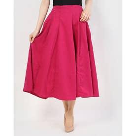 カラフルフレアスカート (Pink)