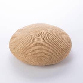 【アイ イー】ペーパーベレー帽 (ベージュ)