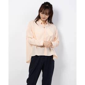 【maonon】比翼BIGシャツ (ピンク)