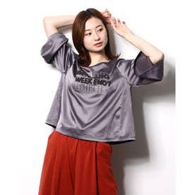 サテン刺繍Tシャツ (CCL)
