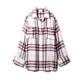 ネルチェックシャツ (OWHT)