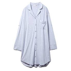 ハートシャツドレス (BLU)