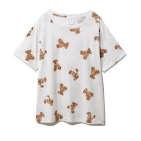 ベアモチーフ抗菌防臭Tシャツ (OWHT)
