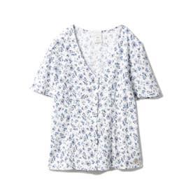 リトルフラワーシャツ (BLU)