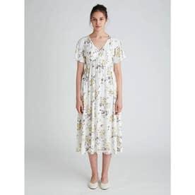 ギフトフラワーモチーフ ドレス (OWHT)