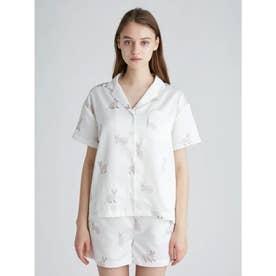 セルカークレックスモチーフシャツ (OWHT)