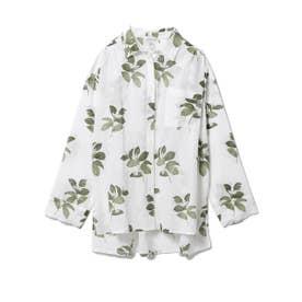 ジャスミンモチーフシャツ (OWHT)