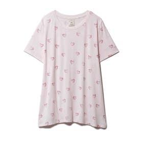 ハートモチーフTシャツ (PNK)