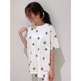 スターモチーフTシャツ (NVY)
