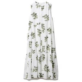ジャスミンモチーフノースリーブドレス (OWHT)