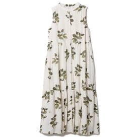 ジャスミンモチーフノースリーブドレス (BEG)
