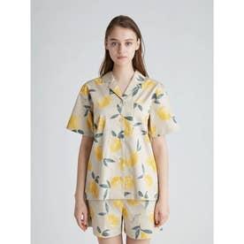 フルーツアロハモチーフシャツ (YEL)