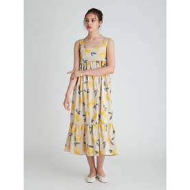 フルーツアロハモチーフドレス (YEL)