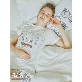 【PEANUTS】ワンポイントTシャツ (OWHT)