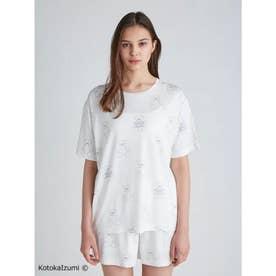 【kotoka izumi】ベアモチーフTシャツ (OWHT)