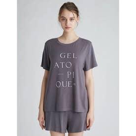 レーヨンロゴTシャツ (CGRY)