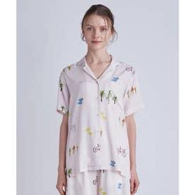 サマーモチーフシャツ (PNK)