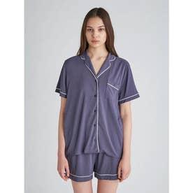 クールレーヨンシャツ (NVY)