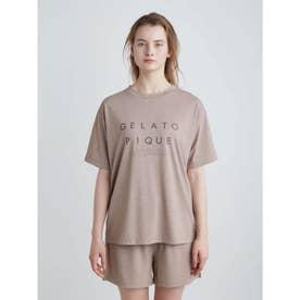 冷感ロゴTシャツ (BRW)