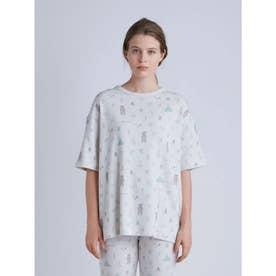 アニマルキャンプモチーフTシャツ (GRY)