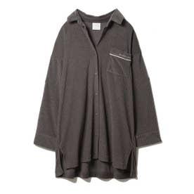 パイルリブシャツ (CGRY)