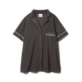 パイルリブ半袖シャツ (CGRY)
