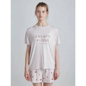 フルーツロゴモチーフTシャツ (PNK)