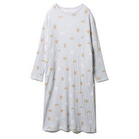 メレンゲドッグ柄ドレス (BLU)