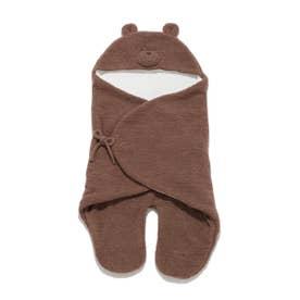 【BABY】 'ベビモコ'くまクッキー baby ブランケット (BRW)