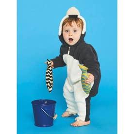 【BABY】【旭山動物園】ペンギン baby ロンパース (NVY)