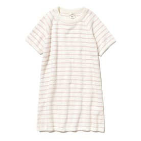 'スムーズィー'ピンボーダー kids ドレス (PNK)