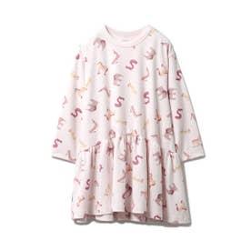 アルファベットアニマル kids ドレス (PNK)