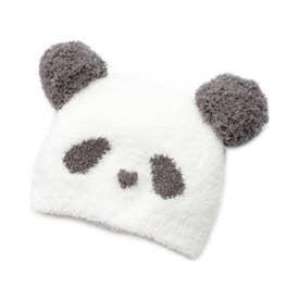 【BABY】'ベビモコ'パンダ baby キャップ (OWHT)