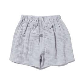 【KIDS】アニマルガーゼ kids ショートパンツ (BLU)